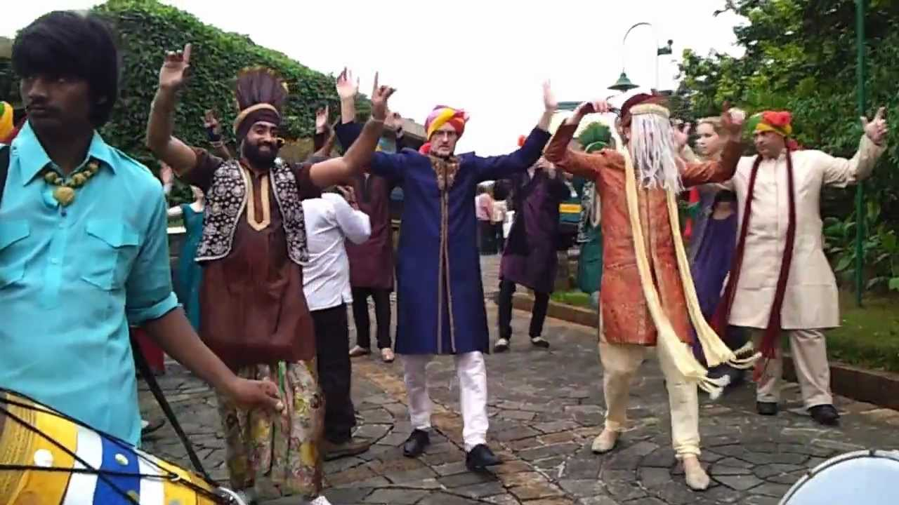 Wedding Bharat Punjabi Dhol Wal Nitinbedi Mumbai Bhangra Dancers 9892833280
