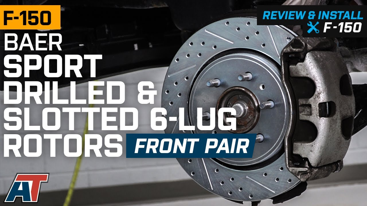 FRONT PADS 57461PK POWER CROSS DRILLED SLOTTED PLATED BRAKE ROTORS