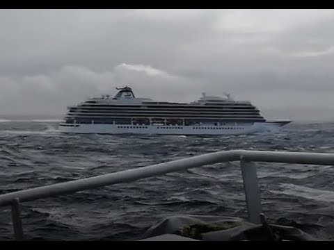 Fishing Vessels Come to Aid of Stricken Cruise Ship Off Norway