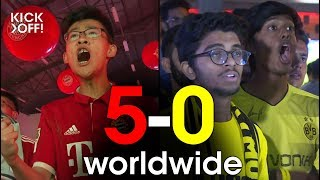 Bayern 5-0 Dortmund worldwide - the Bundesliga shocker from Delhi to Mexico City