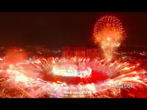 Malaysia - 29TH SEA Games KL2017 OPENING CEREMONY l Bukit Jalil l 19August 2017 l [4K]