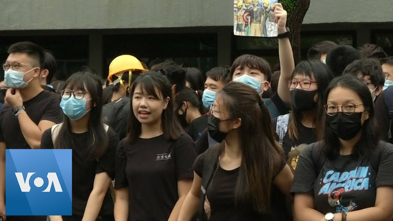 Hong Kong Protests Led a Student to Activism, Then to the Point of a Gun