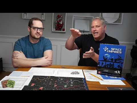 Review: Space Empires 4X from GMT Games - The Players' Aid