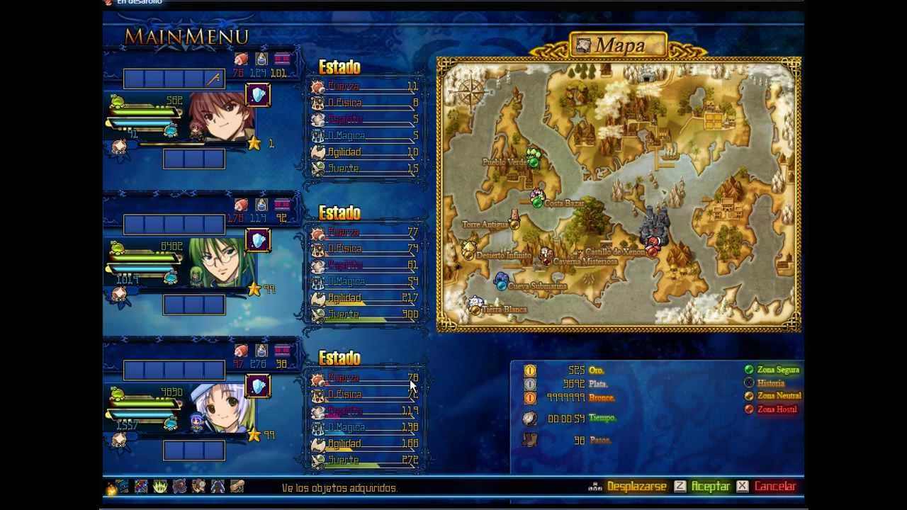 Rpg Maker Vx Ace Custom Menu YouTube