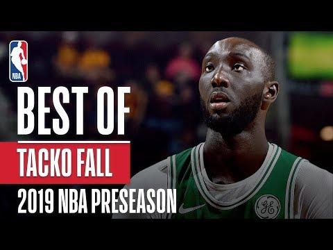 Best of Tacko Fall From 2019 NBA Preseason