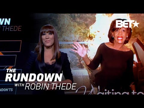 Robin Thede Compares Maxine Waters' Lethal Wig Snatch To A Scene From 'Black Panther' | The Rundown