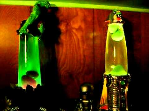Hulk And Marvin Martian Lava Lamps Youtube