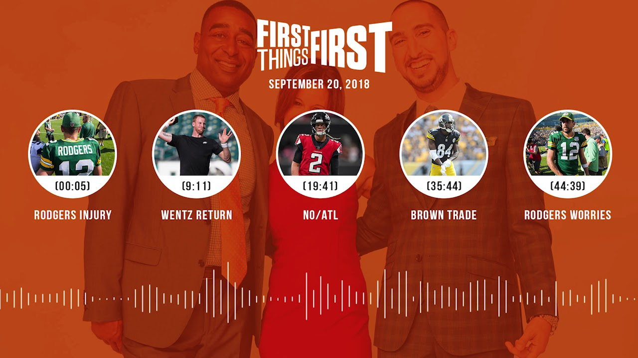 First Things First audio podcast(9.20.18) Cris Carter, Nick Wright, Jenna Wolfe | FIRST THINGS FIRST