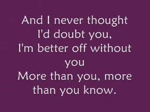 Over You- Chris Daughtry w/ Lyrics
