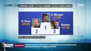 Football: et le joueur le plus cher est... Kylian Mbappé