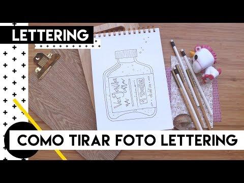 Como tirar foto do seu lettering | by Aline Albino