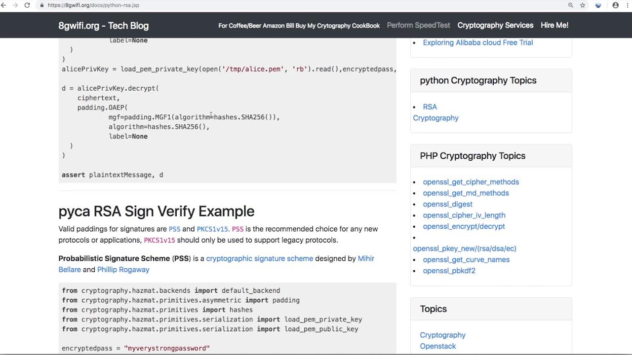 python rsa cryptography example