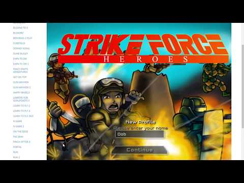 Strike Force Heroes   Unblocked Games SHS   Google Chrome 7 12 2019 2 03 30 PM