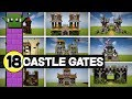 18 Things in Minecraft - CASTLE GATES