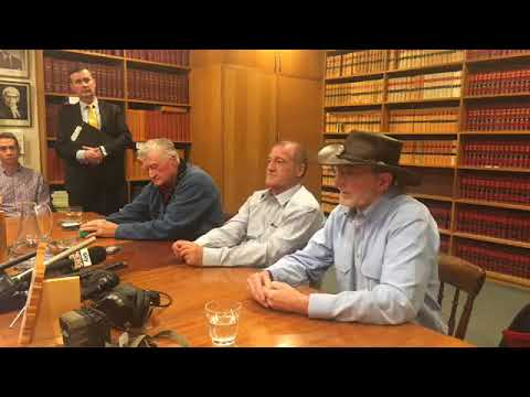 Thylacine/Tasmanian tiger report press conference -The Mercury News