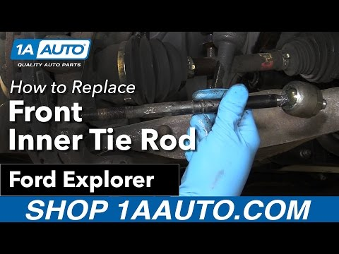 How to Replace Front Inner Tie Rod 06-10 Ford Explorer