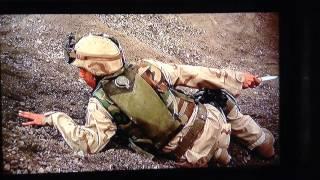 アメリカ軍VS武装集団銃撃戦からのナイフの戦い。すごすぎる!!!