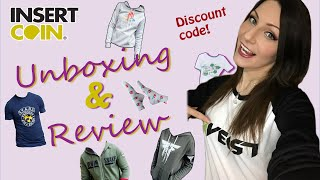 Insert Coin Clothing Unboxing + Review | Games Clothing