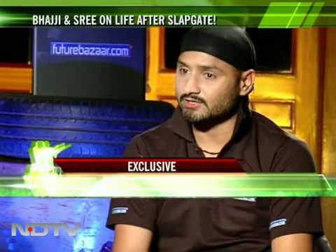 Bhajji, Sreesanth on IPL slap-gate