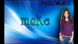 Victoria Justice - Make It In America (Lyrics On Screen)HD