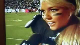 Lingerie Football player curses on TV during interview