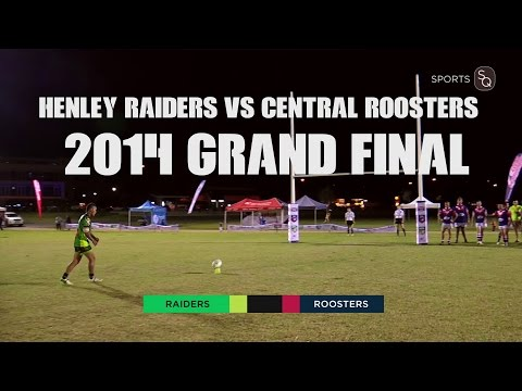 Central Roosters vs Henley Raiders (Full Game) Sports Centre Cup SARL 2014 Grand Final