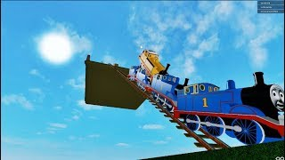 THOMAS AND FRIENDS THE CRAZY SLIDE 4 BROKEN RAILWAY ROBLOX!