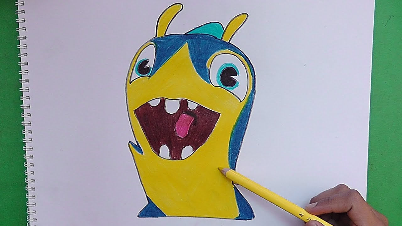 Como dibujar y pintar a Slirena (Bajoterra) - How to draw and paint ...