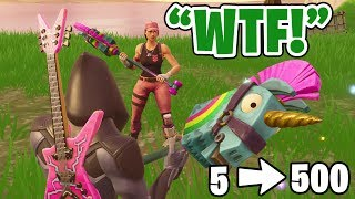 WE RAIDED THE MOST UNDERRATED FORTNITE TWITCH STREAMER!! (RANDOM DUOS *WIN*)