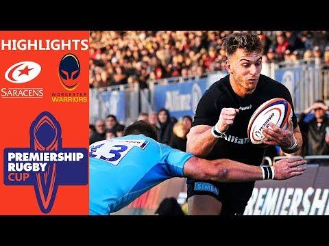 Saracens v Worcester Warriors   Sarries Keep Semi-Final Hopes Alive   Premiership Rugby Cup