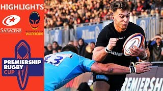 Saracens v Worcester Warriors | Sarries Keep Semi-Final Hopes Alive | Premiership Rugby Cup