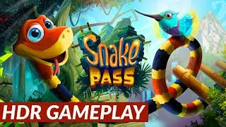 Snake Pass - HDR gameplay [PS4 Pro]