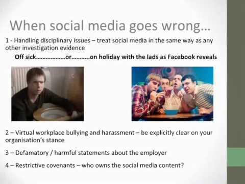 Social media @ work - opportunity or danger?