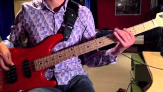 Emerson Lake And Palmer - Peter Gunn (Bass Cover)