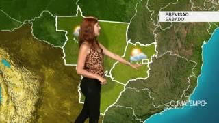 Previsão Centro-Oeste - Mais pancadas de chuva