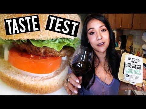 "TASTE TESTING THE ""BEYOND MEAT"" BURGER - #TastyTuesday"