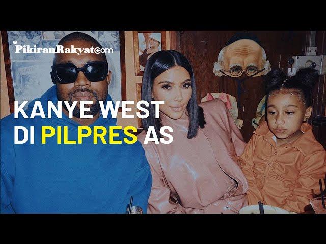 Kim Kardashian Bakal Jadi Ibu Negara, Kanye West Bersumpah Bakal Menangkan Pilpres AS