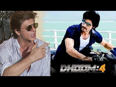 Shahrukh Khan's Reaction On His Upcoming Film DHOOM 4