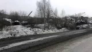 Оползень Заречный (оригинальный звук) 01.04.2015