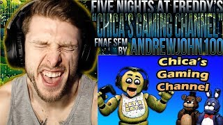 "Vapor Reacts #932 | [SFM] FNAF ANIMATION 'Chica's Gaming Channel"" by AndrewJohn100 REACTION!!"