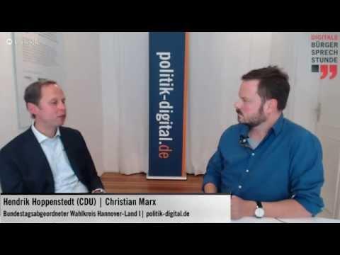 Digitale Bürgersprechstunde mit Hendrik Hoppenstedt (CDU)