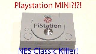 Playstation Mini?!?! PiStation running RetroPie breakdown
