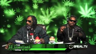 Snoop Dogg takes over the Dr Greenthumb Show | BREAL.TV