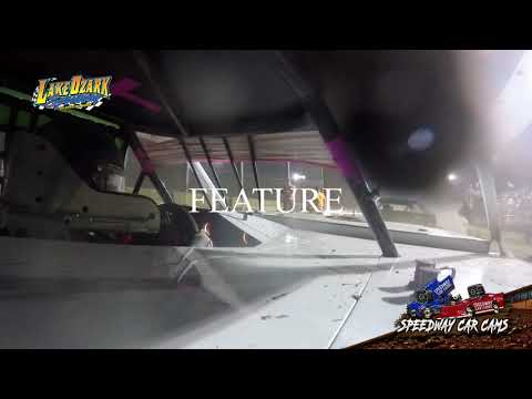 #22 Ashley Klick - USRA B Mod - 7-14-19 Lake Ozark Speedway - In Car Camera