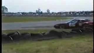 Ferrari 400 GT in the race Castle Combe Circuit 1990 UK