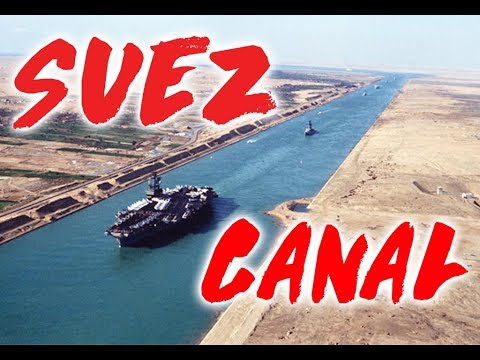 Sail through Suez Canal  | Life at Sea on a Container Ship