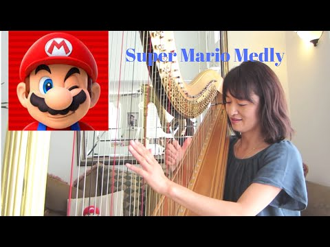 Super Mario on Harp スーパーマリオ