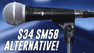 Shure PGA48 Dynamic Mic Review / Test