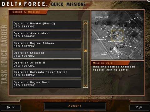 11 Khanabad, Delta Force: Task Force Dagger