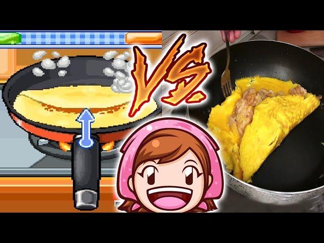Cooking Mama Nella VITA REALE #2   Omurice / Omelette al Riso